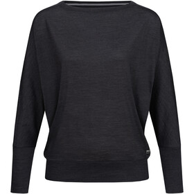 super.natural Kula Top Dames, jet black melange